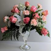 Rose Goblet Fresh Floral Design