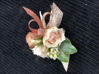 Rose Gold Boutonniere
