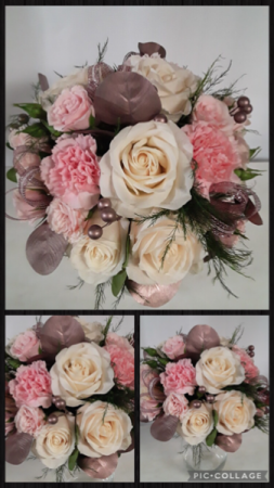 Rose Gold & Ivory  Bouquet