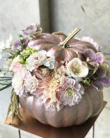 Rose Gold Pumpkin