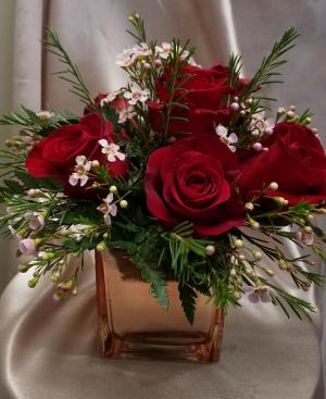 Rose Gold Roses  in Warren, PA | VIRG-ANN FLOWER SHOP INC.