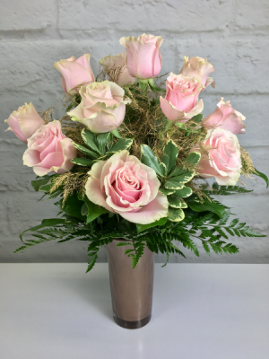 Rose Gold Roses  Valentine's Day Flowers  in South Milwaukee, WI | PARKWAY FLORAL INC.