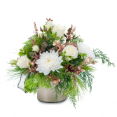 Rose Gold Simply Peaceful Arrangement