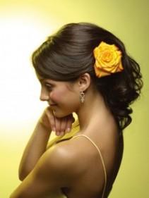 Rose Hair Flower