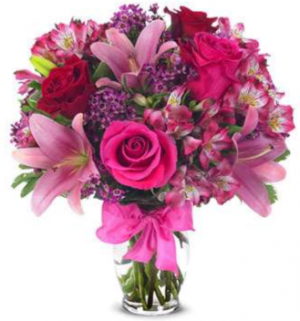 Rose & Lily Celebration Best Sellers in Orlando, FL | Artistic East Orlando Florist