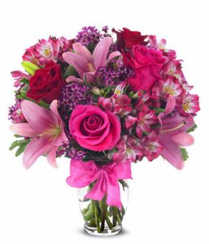 Rose & Lily Celebration anniversary in Las Vegas, NV   Blooming Memory