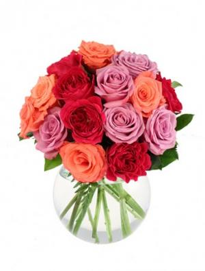 Rose Lovers Mixed Bouquet in Anderson, SC | NATURE'S CORNER FLORIST