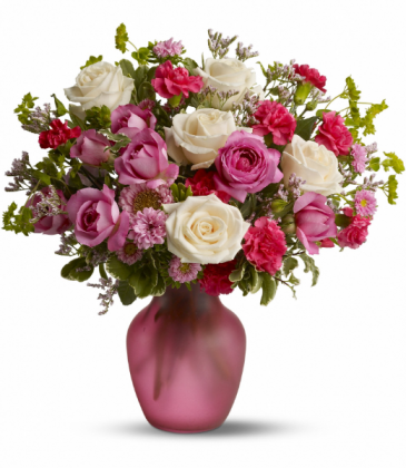 Rose Medley All-Around Floral Arrangement