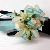 Rose & Orchid Corsage Wristlet Corsage