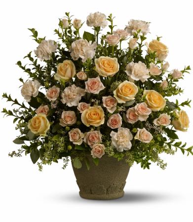 Rose Remembrance Fresh Arrangement