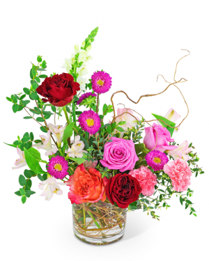 Rose Revival Flower Arrangement in Nevada, IA   Flower Bed