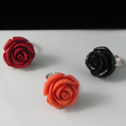 Rose Ring Lg Jewelry