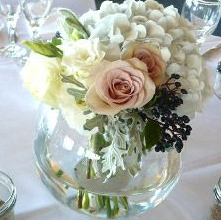 ROSE ROMANCE ELEGANT MIXTURE OF FLOWERS