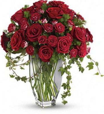 Rose Romanesque Bouquet Sympathy Arrangement