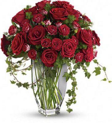 Rose Romanesque Bouquet Sympathy Arrangement