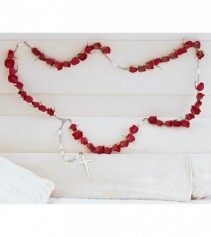 ROSE ROSARY BEADS