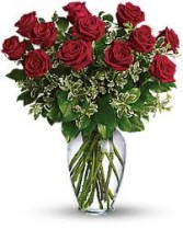 ROSES IN VASE COLOUR ROSES AVAILABLE