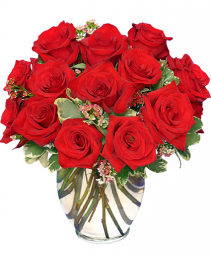Rose Royale 18 Red Roses
