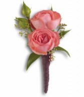 Sunset Beauty Boutonniere H2026A