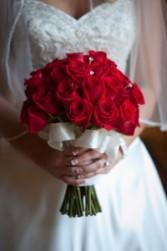 Rose Simplicity Bridal Bouquet