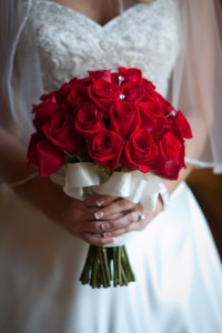 Rose Simplicity Bridal Bouquet