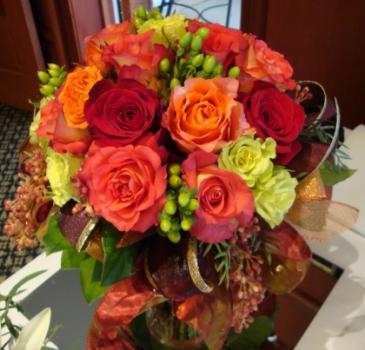 Rose Splendor Vase