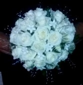 Rose & Stephanotin Bridal Bouquet