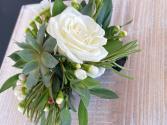 Rose & Succulent Corsage