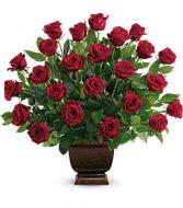 Rose Tribute Floral Arrangement