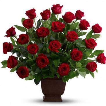 Rose Tribute Funeral