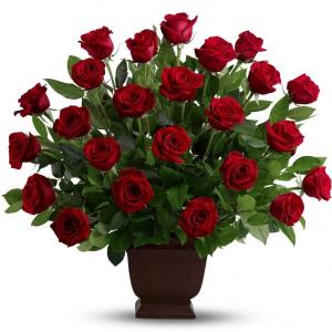 Rose Tribute sku #T224-1A in Arlington, TX | Erinn's Creations Florist