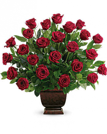 "Rose Tribute T224-1 27""(w) x 26""(h) ONE SIDED"