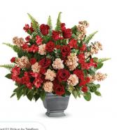 Rose Urn Sympathy