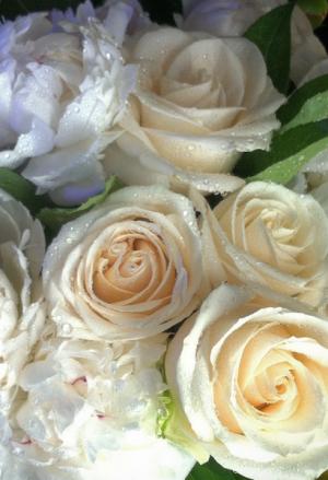 Rose Wedding Flowers  Wedding Package in Redding, CT | Flowers and Floral Art