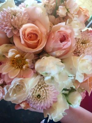 Roseland Bouquet Bride or Bridesmaid in Whitehouse, TX | Wild Flower On Plum Creek