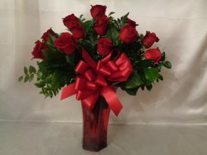 Roses Say I Love You Rose Arrangement in Lansing, MI | Jon Anthony Florist