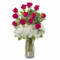 Baby I Love You Rose Bouquet! Roses kicked up!! Customers Fav!!
