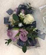 Roses and Beads Corsage
