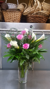 Roses and Callas (One Day Advance) 145.95 155.95 175.95