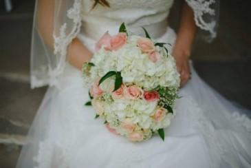 roses and cream bridal, medium size