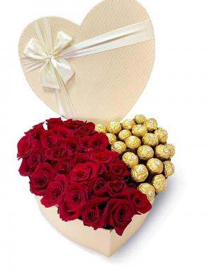Roses And Ferrero Rocher  in Mcdonough, GA | Parade of Flowers