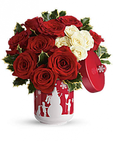Roses And Holly T16X310 12