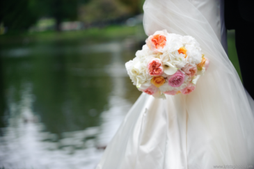 Roses and Hydrangea Wedding bouquet