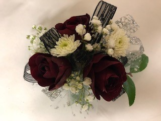 Roses and Mums Corsage