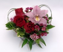 Roses and Orchid