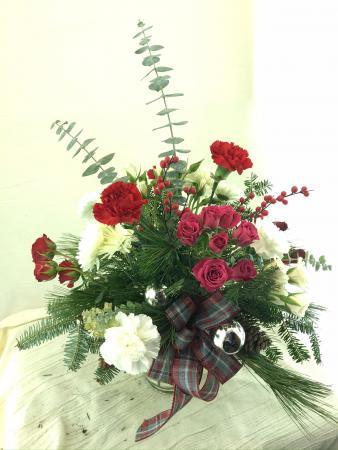Roses and Ribbons Christmas