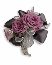 Roses and Ribbons Corsage