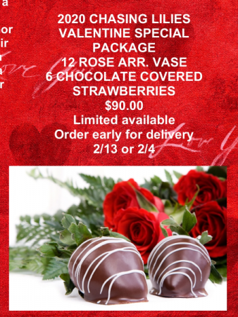 Roses and strawberries Shop Special