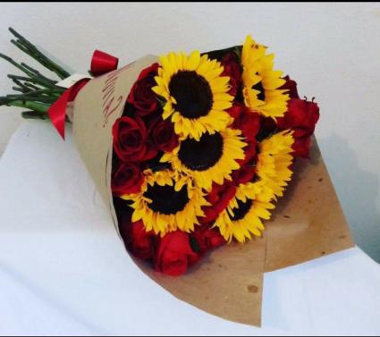 Roses and sunflowers #2 Roses and sunflowers #2