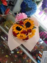 Roses and sunflowers #4 Roses and sunflowers #4